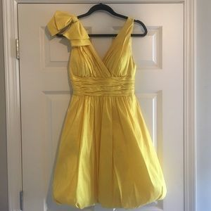 Jovani Homecoming/Prom/Formal Yellow A-Line Dress